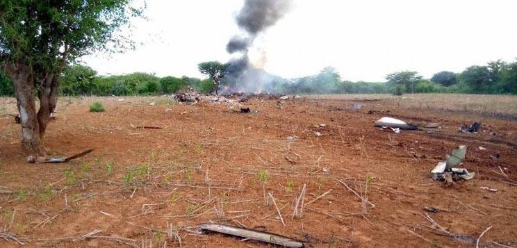 COVID-19 Plane Crashes