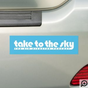 Bumper Sticker (Blue)