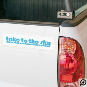 Bumper Sticker (White)