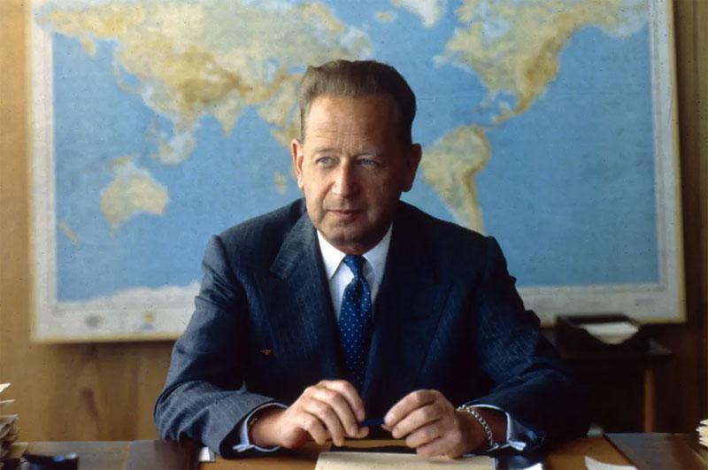 Secretary General of the United Nations, Dag Hammarskjold