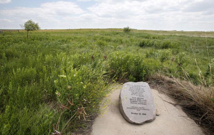 Payne Stewart plane crash memorial