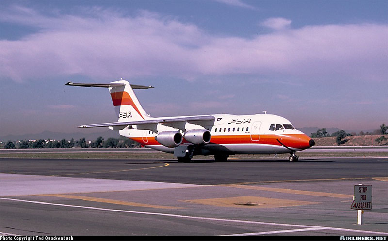 Pacific Southwest Airlines Flight 1771