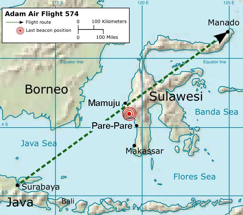 Adam Air Flight 574